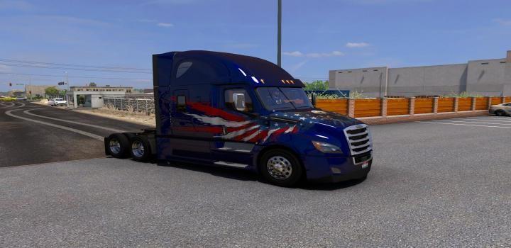 Ats Scs Freightliner Cascadia Reworkable 1 39 X Freightliner Cascadia Freightliner Cascadia