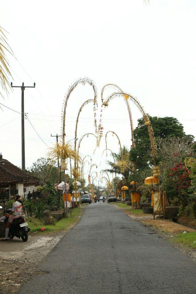 Penjor Bali..
