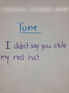 teaching tone in writing Voice can be described as the unique quality, tone, or style that jumps off the page in a given piece of writing - but while voice involves tone and style how to teach voice in narrative writing, focusing on the main character, the point of view character, is critical.