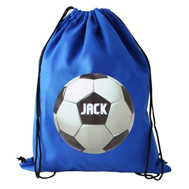 I've just found Personalised Sporty Boys Football Kit Bag Or Swim Bag. A great fun personalised boys football kit bag.. £17.99