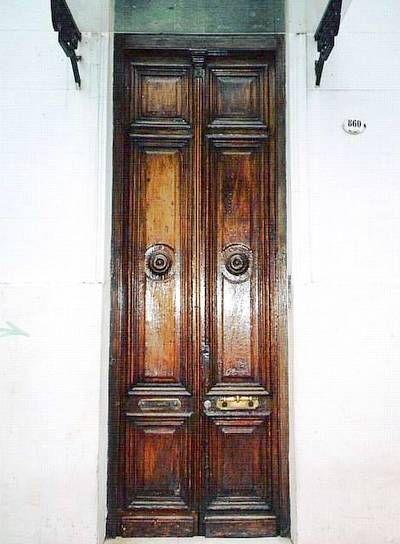 Puerta de casa antígua