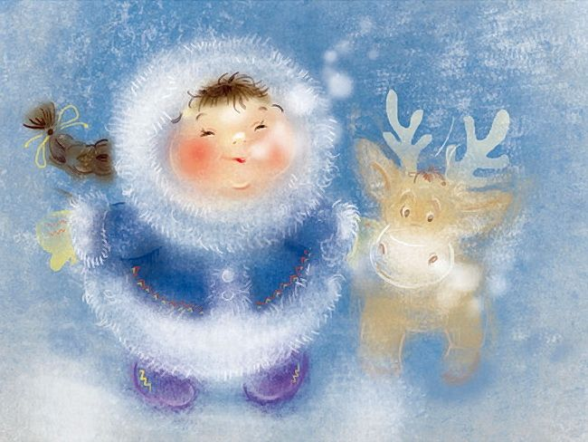 >Воробействует, синичит снегоулиц снегота.... Художник-иллюстратор Екатерина Бабок. Обсуждение на LiveInternet - Российский Сервис Онлайн-Дневников