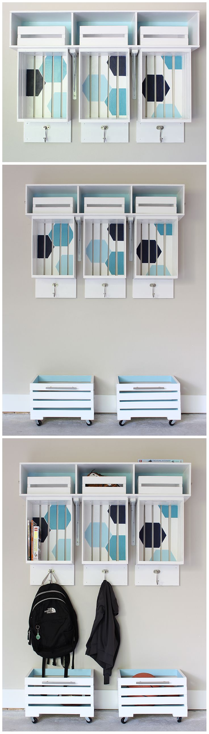 Old school wooden storage crates are a great way to help organize a space with a bit of visual appeal. Paint them, stain them, or just leave the crates in their natural state. We have wooden crates of all sizes for your next organization project.