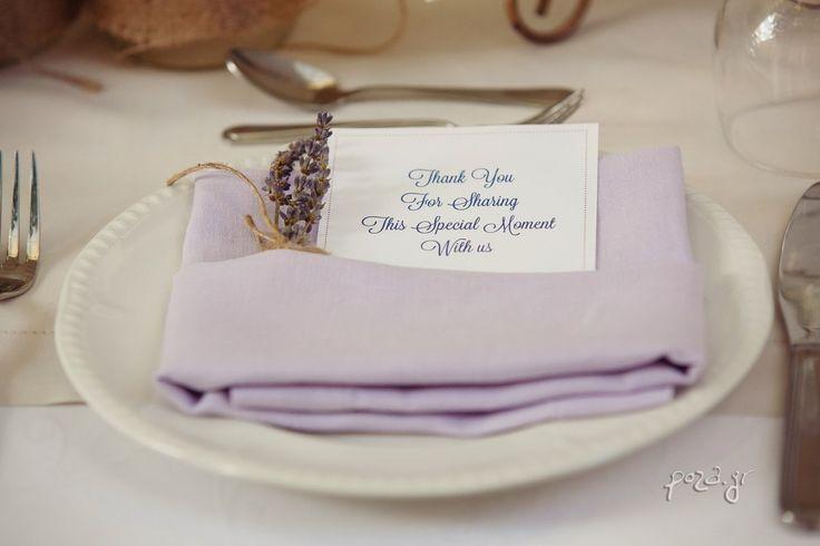 Elegant Lavender Destination Wedding