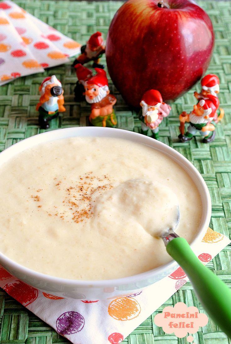 pappa di semolino dolce alle mele, ricette per bambini