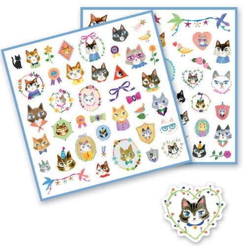 Djeco stickers, bij Zoethout Hattem
