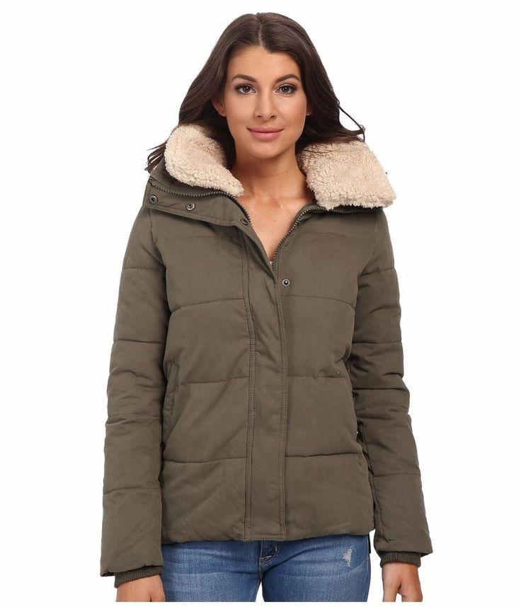 Mavi Jeans Fur Collar Detailed Coat Green Women's Coat / Jacket Size LG  Large #MaviJeans - 42 Best Women's Designer Coats / Jackets Images On Pinterest