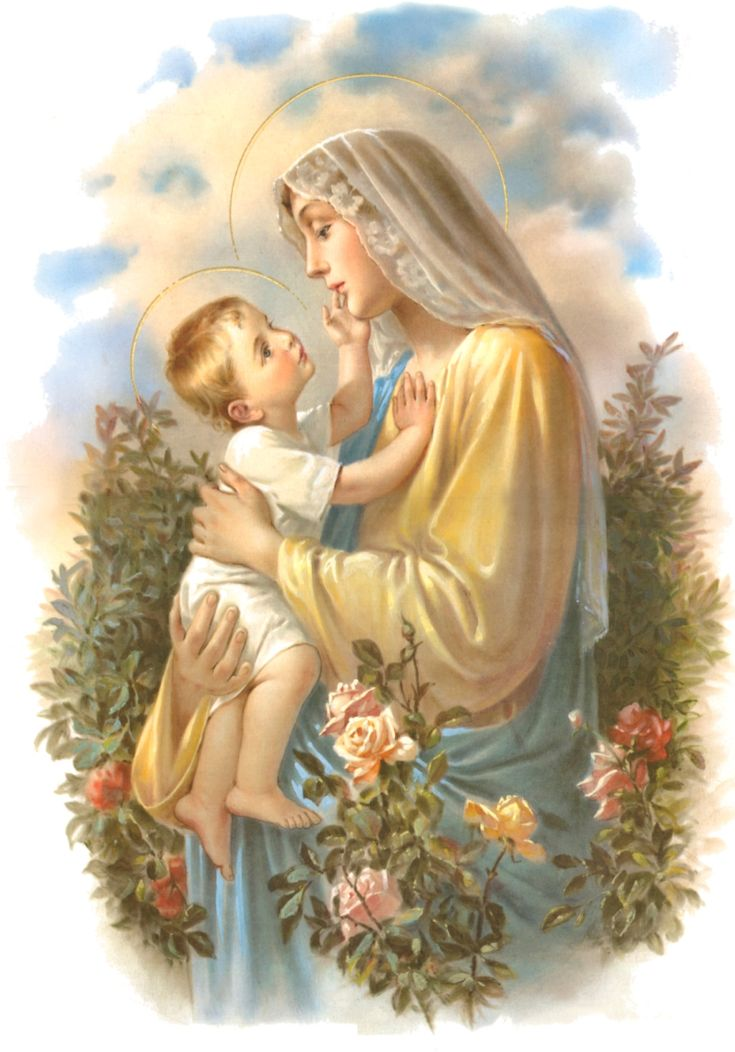 Blessed Mother Mary And Jesus 179 best images about ...