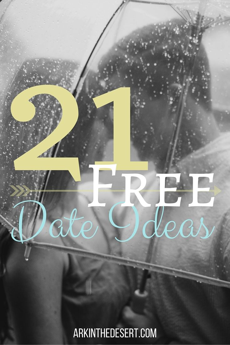 21 Free Date Ideas for any one on a budget or looking to save some money.