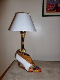 Resultado de imagen para lampara zapato