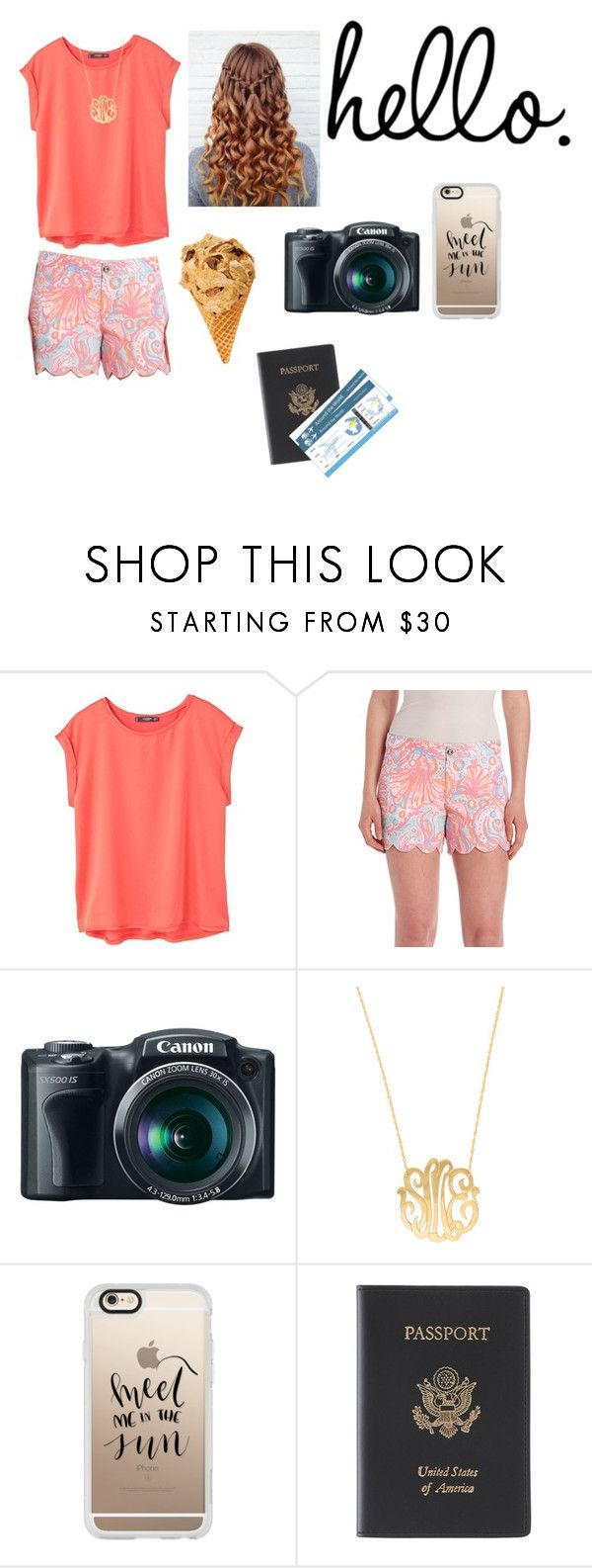 """I'm trying to keep it cool but ur making it hard."" by emily-wollan ❤ liked on Polyvore featuring MANGO, Lilly Pulitzer, Moon and Lola, Casetify and Royce Leather"