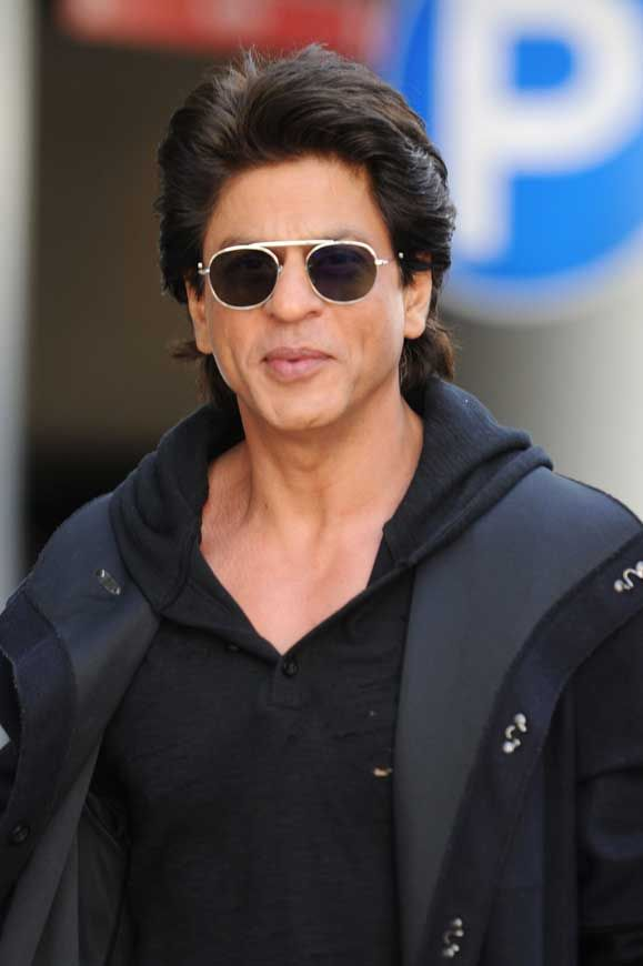 Shah Rukh Khan Sunglasses Hoody Vancouver Ted Talks © Atlantic Images