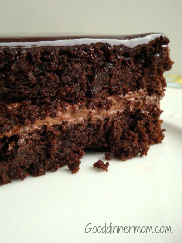 Super Moist Chocolate Quinoa Cake - Gluten Free