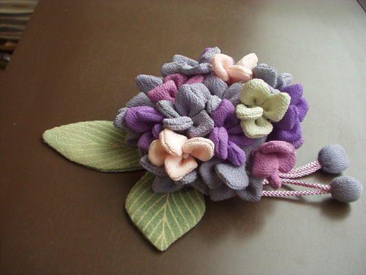 Season of Chirimen,Kimono fabric