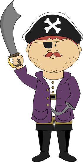 Pirate avec crochet bras