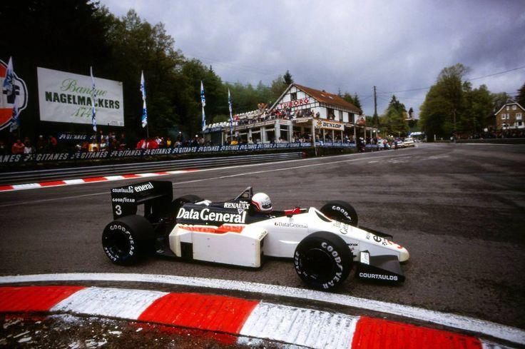 Martin Brundle (Tyrrell-Renault) Grand Prix de Belgique - Spa-Francorchamps - 1986 - Formula 1 HIGH RES photos (Old and New) Facebook