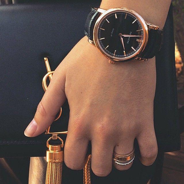 Идеальные черные часы!