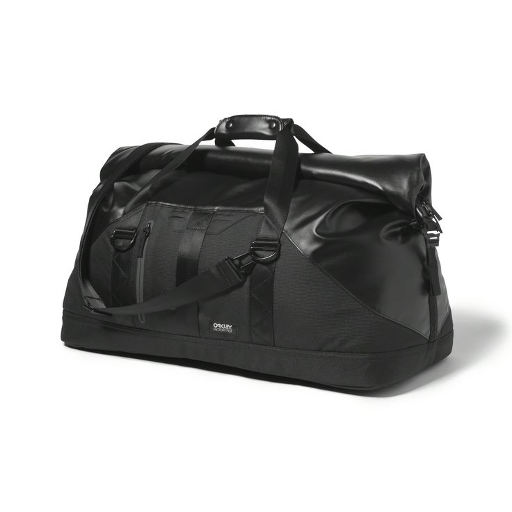 Oakley Factory Pilot Duffel in JET BLACK | Oakley