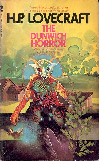 The Dunwich Horror by H.P. Lovecraft  Art by V