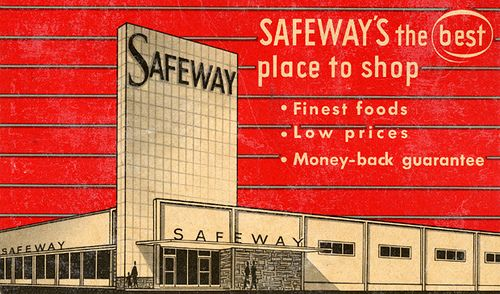 1950's safeway grocery store akron | Safeway Needle Pack, 1950's - a photo on Flickriver(Mom and Dad found each other at Safeway in Akron)