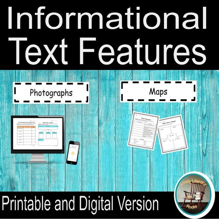 Nonfiction Text Features Distance Learning for Google