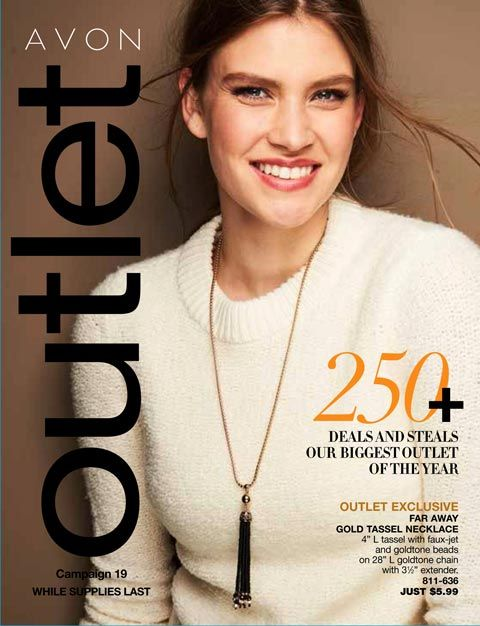 Shop Avon Outlet Campaign 19 2017 online on August 22nd all new Fall Fashion, Makeup and so much more. Shop Avon Outlet current catalog online at www.youravon.com/my1724
