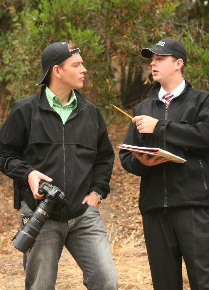 Tony Dinozzo and Timothy McGee. Great tv, show. Gorgeous guys.