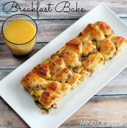Easy Breakfast Bake Recipe with Bacon and Ham