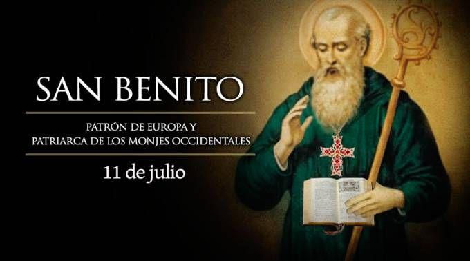 Hoy es Fiesta de San Benito, Patrón de Europa y Patriarca de los monjes occidentales