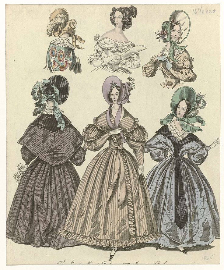 The World of Fashion, 1835