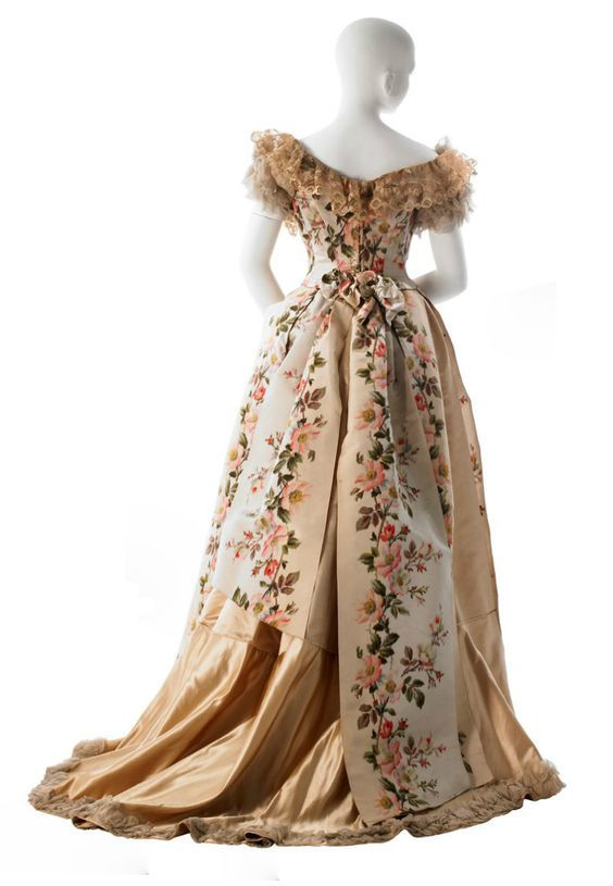 House of Worth Evening dress ca.1900-