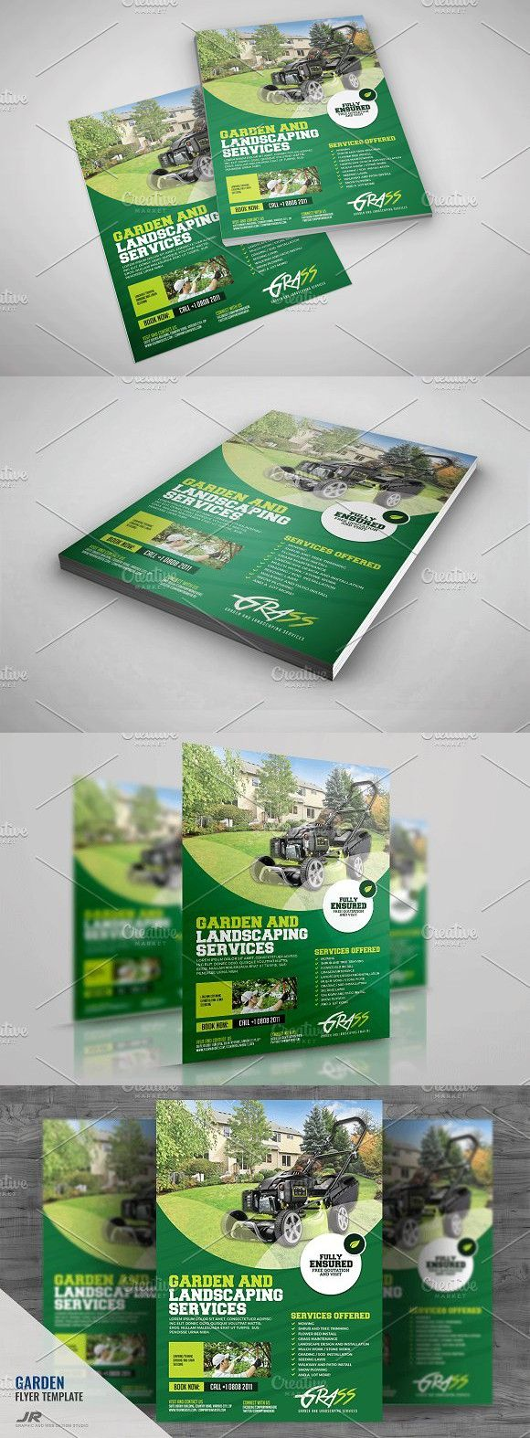 Garden and Landscaping Flyer #a4flyer #advertise