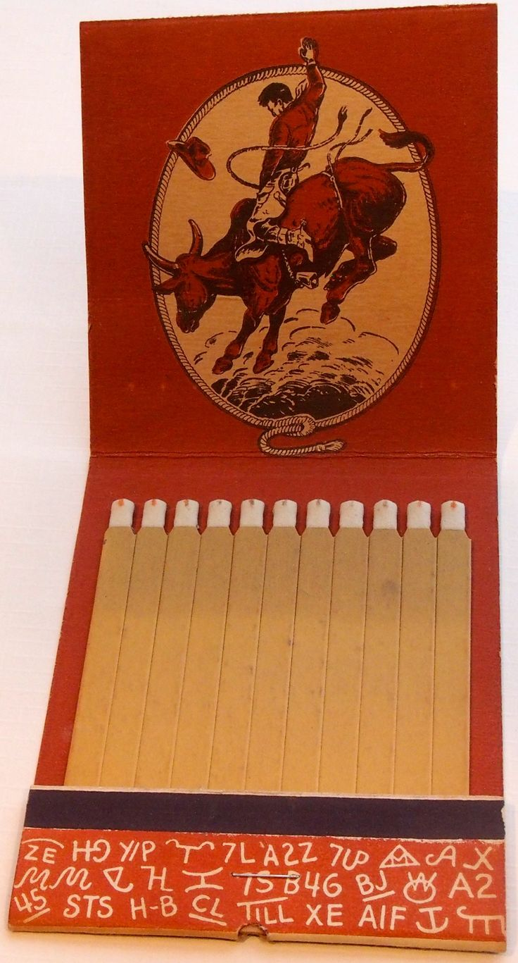 Business Book Cover Art ~ Western themed giant matchbook to order your business