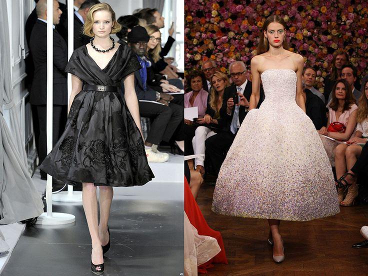 Платье клеш поможет создать романтичный образ