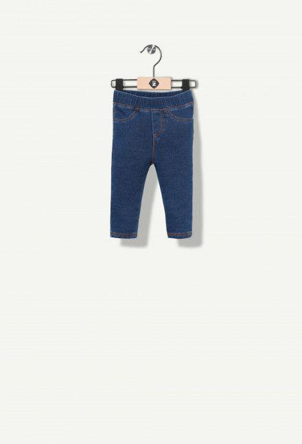 Jeggings indaco effetto jeans Grain De Blé. Découvrez l'univers Grain De Blé, vêtements pour La selezione sur Z-Eshop