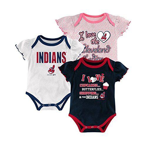 Cleveland Indians Baby Onesie