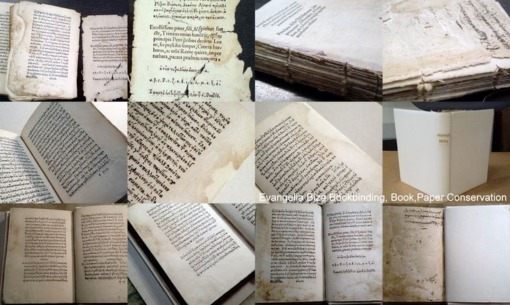 Paper Conservation and Bookbinding with Parchment