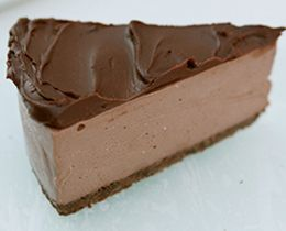 Chocolate Cheesecake with Ganache