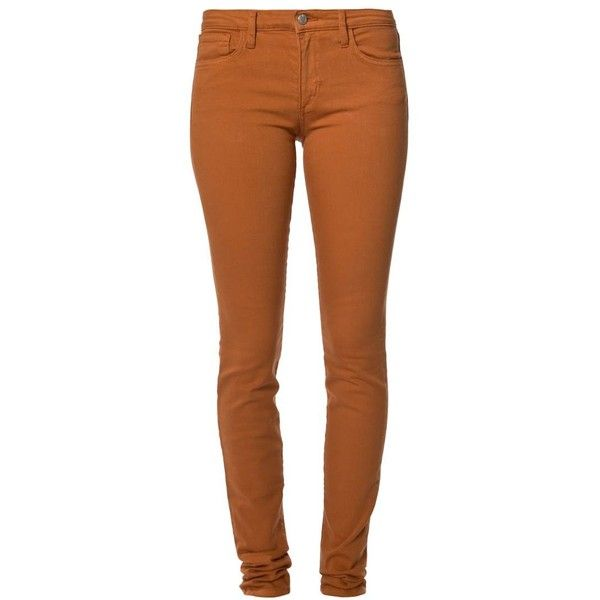 25  best ideas about Orange Skinny Jeans on Pinterest | Casual ...