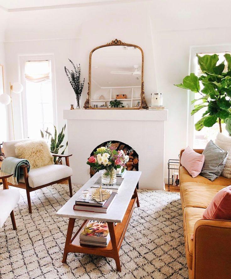 living room | home decor | house decoration | mid century ...