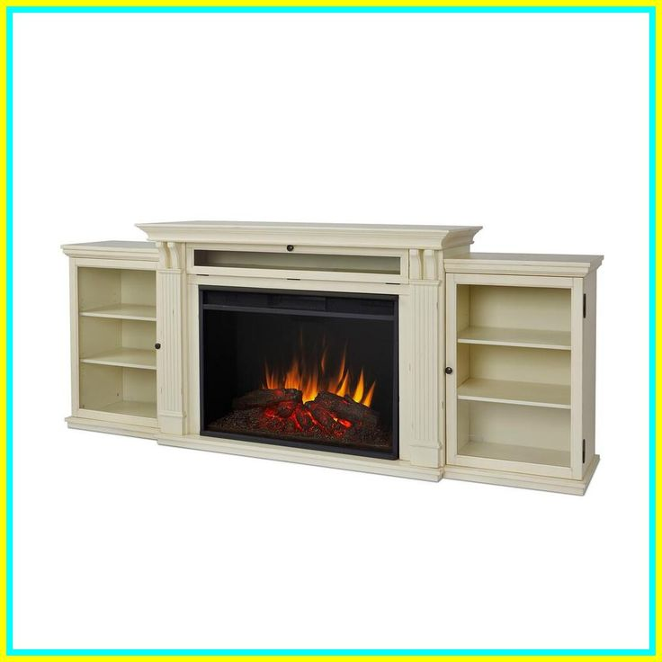 68 reference of white farmhouse tv stand with fireplace in