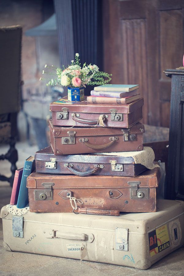Check it all out, love the books and suitcases xx