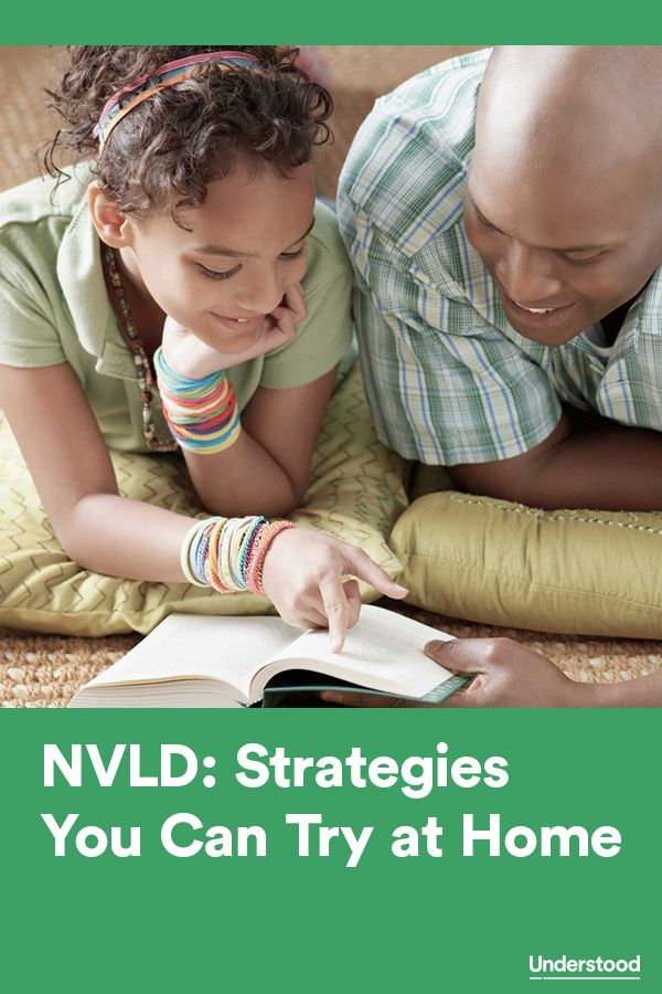 Strategies you can try at home to support children with nonverbal learning disabilities #NVLD