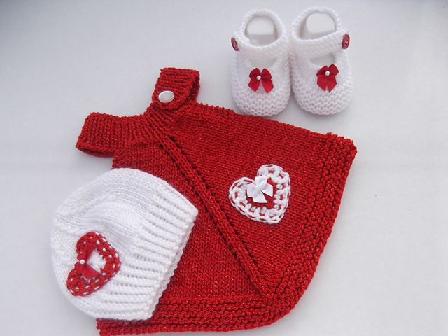 Ravelry: t-a-n-y-a's Welcome Home Baby Girl Set - 3