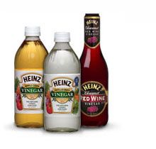 Vinegar is one of my favorite things, and Heinz is the best.  The apple cider variety is nice in small quantities to mix things up, but the distilled white vinegar is fab in slaw, salad dressing, or a marinated salad.  It's also super good for you, and even makes a great cleaning product.