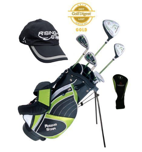 Product review for Paragon Rising Star Kids Golf Clubs Set / Ages 8-10 Green With Gift - (Please visit our website for more details).