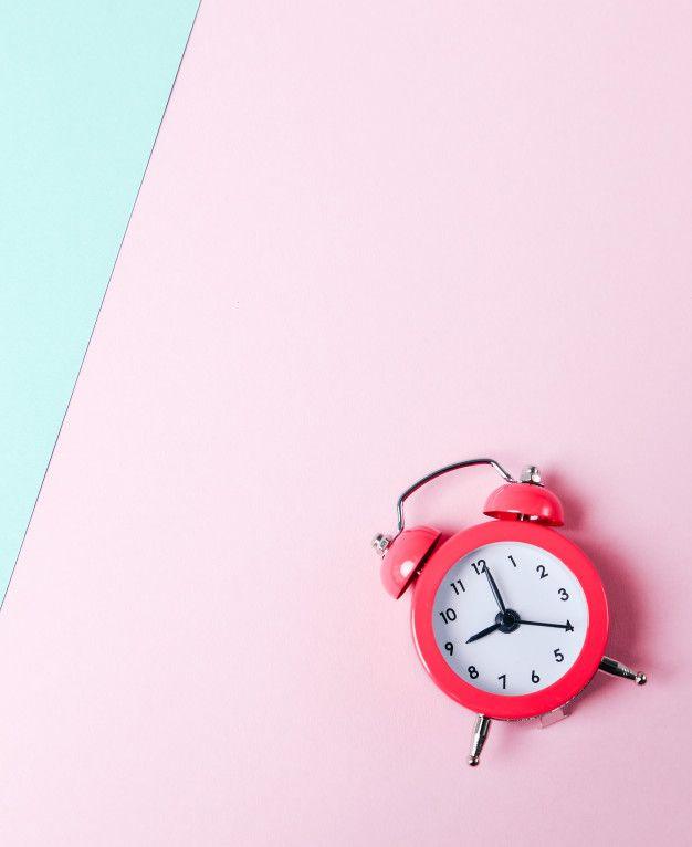 Aesthetic clock wallpaper free download