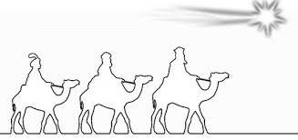 Heilige drei Könige Ausmalbild