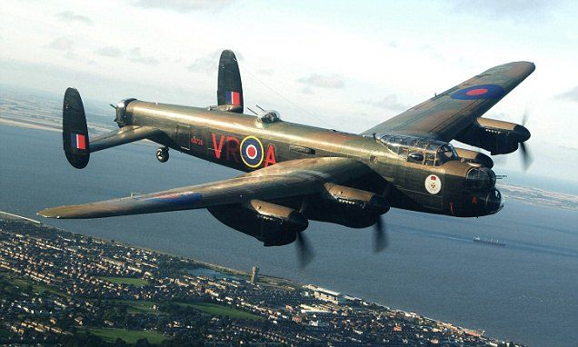 One of the last two flying Lancasters pays tribute to the 55k Bomber Boys who never returned with flight on the route thousands of sorties took to target the Nazis. Incredible footage captured alongside legendary #Lancaster #Bomber