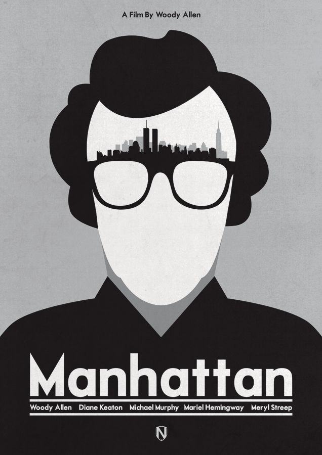 fuckyeahmovieposters:  Manhattan by Matt Needle